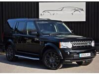 2013 Land Rover Discovery 4 3.0 SDV6 HSE 7 Seats+ Santorini Black+ High Spec