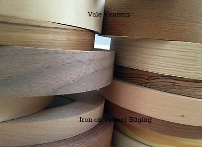 Iron on Veneer Edging Tape/Wood Veneer Trim Edge Banding 18mm,22m,30mm,40mm,50mm Trim Edge-banding