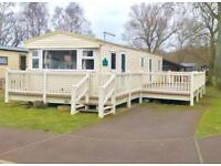 CHEAP CARAVAN SITED WITH DECKING NORTH WALES COAST