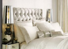 Kylie Minogue Astor Oyster Square Pillowcase