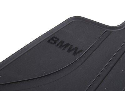 BMW OEM Black Rubber Floor Mats 2006-2012 E90 3 Series xDrive Sedans 51472311000