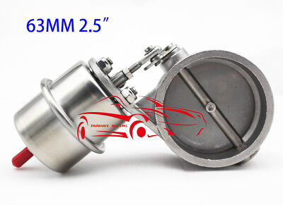 63Mm Boost Actuate Engine Roar Sound Play Exhaust Bybass Gate Stainless Steel