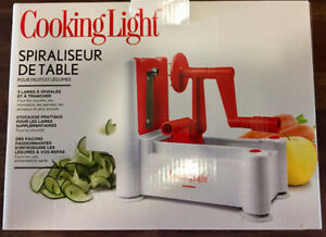 TABLETOP SPRALIZER for Fruits & Vegetables