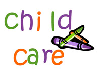 Childcare Available- Monday's and Tuesday's