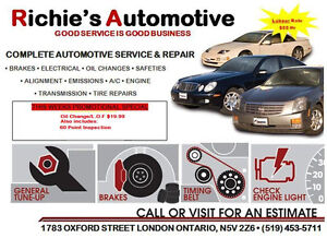 OIL CHANGE FOR JUST $24.99 + tax!!! London Ontario image 2