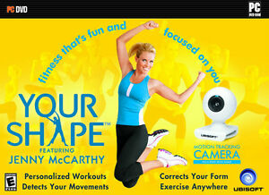 Your Shape Jenny McCarthy Cam & DVD
