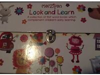 Infants first words LOOK AND LEARN BOOK SET x10 1st word books
