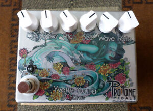 Pro Tone Pedals Yvette Young signature Chorus Pedal