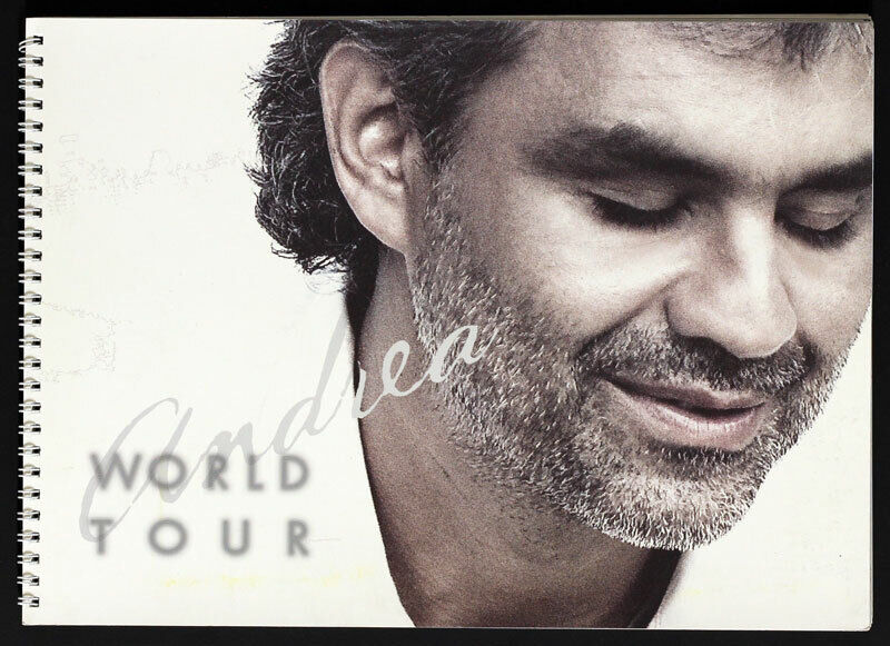Andrea Bocelli Original World Tour ca 2000