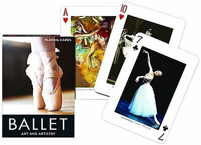 Ballet Art & Artistry set of 52 playing cards + jokers (gib)
