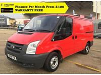 2008 Ford Transit 2.2 260S Low Roof Panel Van,1 Owner, FSH 70K (swb 280 300 MK7