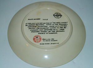 Norman Rockwell Plates, 4 Rediscovered Women Collection +1 Kitchener / Waterloo Kitchener Area image 8