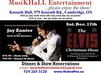 The Elvis Christmas Dinner and Show