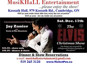 The Elvis Christmas Dinner and Show Cambridge Kitchener Area image 1