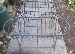Large Wrought Iron Plant Stands