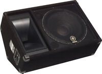 "BLOWOUT SALE Yamaha 15"" Floor Stage Monitors Wedges SM15V"