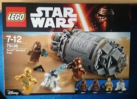 Lego Star Wars Droid a Escape New