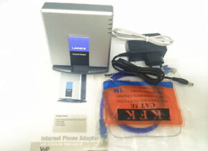 LINKSYS PAP2T-NA SIP VOIP Phone Adapter
