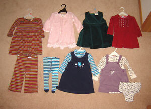 Special Occasion Dress, Sleepers, Leggings Clothes - 9, 12, 18 m Strathcona County Edmonton Area image 3