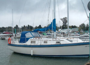27 foot Sailboat with wheel steering and Yanmar Diesel