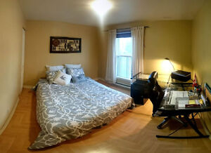 Room/chambre in downtown/centre-ville from may to june