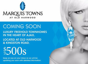 New Townhomes in Ajax