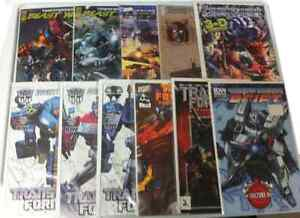 TRANSFORMERS COMICS (PLEASE READ DESCRIPTION)