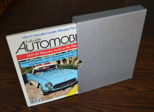 Collectible Automobile magazines - the complete set from 1991
