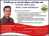 House / Condo / Business Sales / Purchase / Leasing