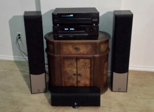 Kenwood  Audio-Video Stereo, CD Changer and Yamaha Speakers