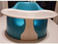 Bumbo seat in very good clean condition eith snack tray