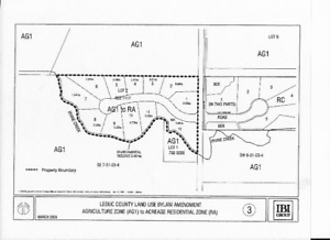 Leduc County Land  annexed by City of Edmonton Jan 1/2019