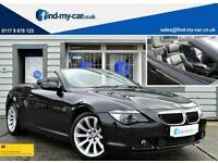 2007 07 BMW 630i 3.0i Sport Auto Convertible iDRIVE | FSH | LOW MILEAGE