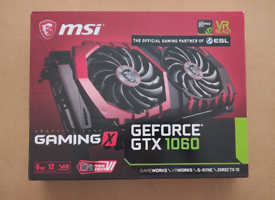 MSI GeForce GTX 1060 6GB GPU Graphics Card