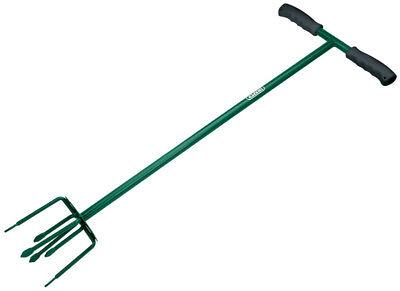 Draper Hand Cultivator/Tiller Long Handled Weeder Garden Soil Tool 6 Prong Claw