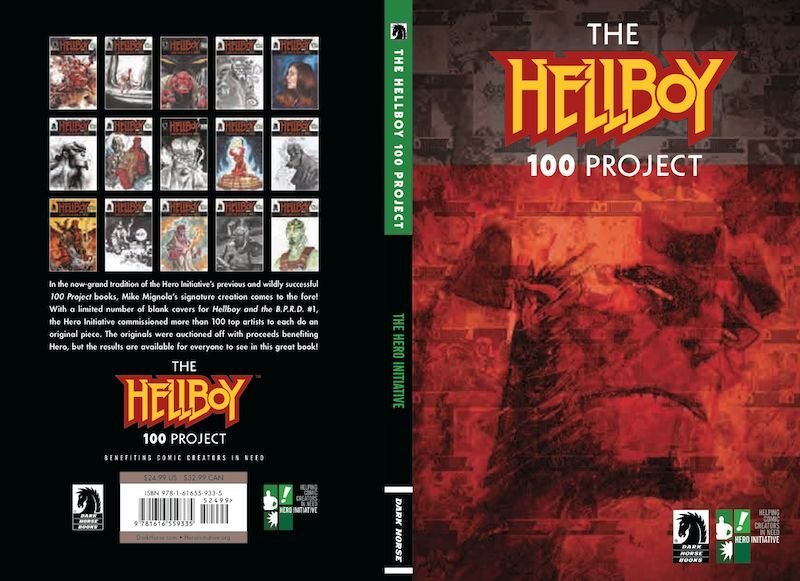 THE HELLBOY 100 PROJECT HARDCOVER
