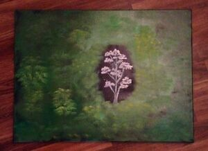 Forest Gem oil painting - 18x24 inches