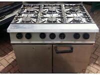 Dominator mk 11 6 burner gas cooker