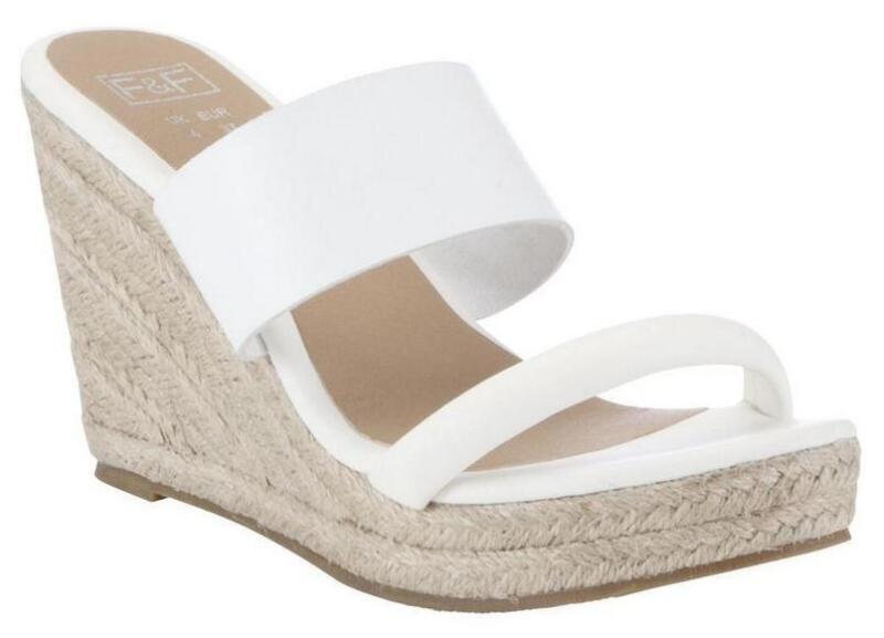 White Espadrilles Wedges Women S Shoes Ebay