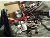 Phones and phone chargers etc Joblot