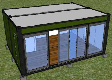 Granny flat kit gumtree australia free local classifieds for Steel frame cabin