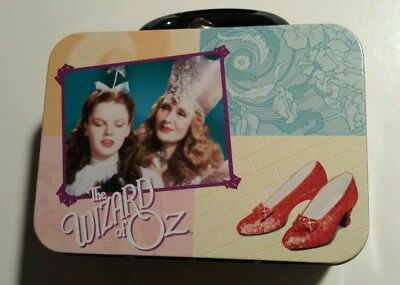 Wizard Of Oz Mini Metal Lunch Box Vandor Turner Entertainment New Classic Movie