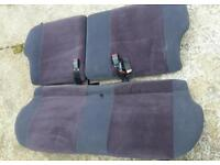 Escort RS Turbo/XR3I rear seats in excellent condition