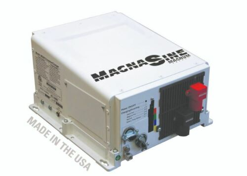Magnum MS2012 Inverter/Charger, 2000W/100A for Wind Generator, Solar Panel, RV