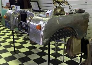 Custom Made 1 of a Kind 1950's Land Rover Built into a Bar/Desk Geelong Geelong City Preview