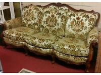 Beautiful Antique Stylish 3 Seater Sofa