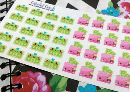 Pay Day Money Sticker For Happy Planners, Mambi, Eclp, Lauren Condred, Filofax