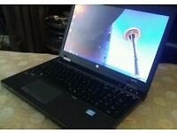 i 5 Hp probook 6Gb Ram 320Gb hard disk windows 10 rebooted 15.6Led with webcam 3 hour battery