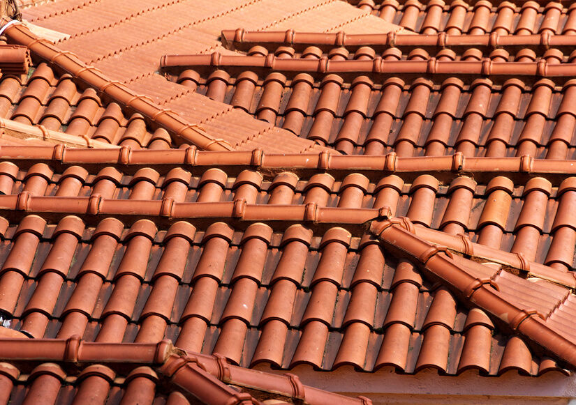 How to lay clay roof tiles ebay for Clay tile roofs