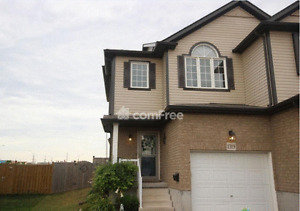 Spacious 3 Bed Room Town House, Finished basement